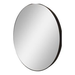 Noir Argie Round Mirror