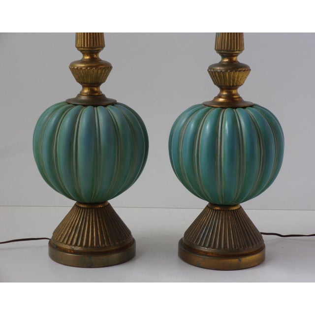 Vintage Italian Table Lamps - A Pair - Image 5 of 9