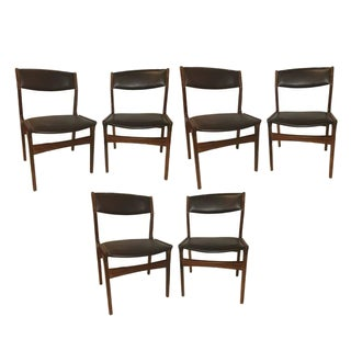 Mid-Century Rosewood Dining Chairs - Set of 6