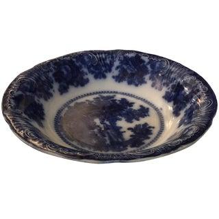 English Flow Blue Bowl