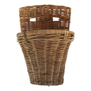 Wicker Wall Pocket