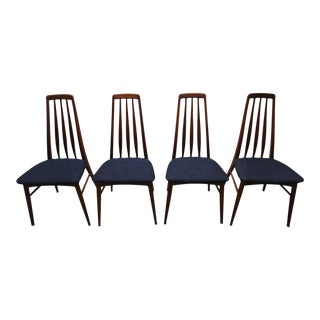 Danish Modern Eva Dining Chairs by Koefoeds Hornslet - Set of 4