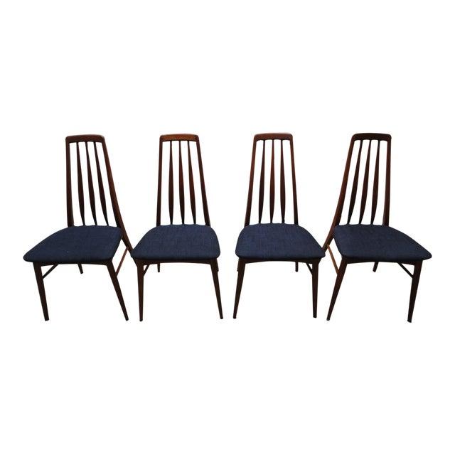 Image of Danish Modern Eva Dining Chairs by Koefoeds Hornslet - Set of 4