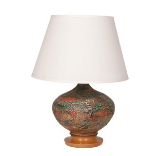Volcanic Glaze Table Lamp