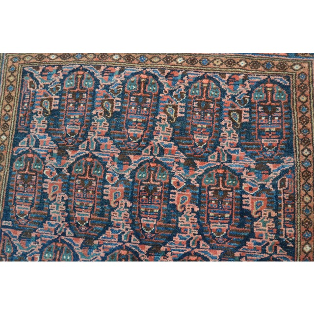 "Paisley Antique Persian Malayer Rug - 3'10"" X 6'4"" - Image 6 of 8"