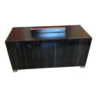 Contemporary Zebrawood Box