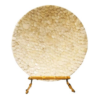 Handcrafted Capiz Shell Decorative Plate