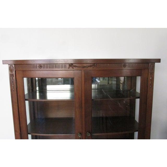 Mahogany Display Cabinet - Image 4 of 6