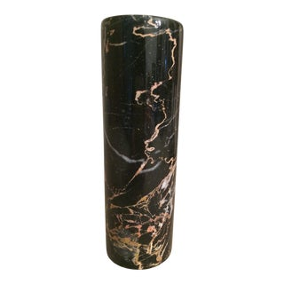 Carerra Black Marble Vase