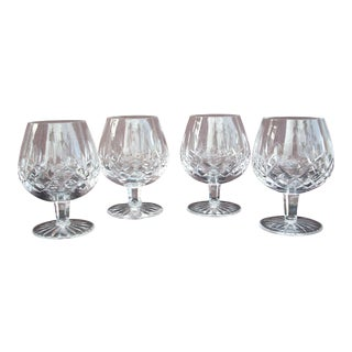 Waterford Lismore Cognac Snifters - Set of 4