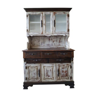 Shabby Chic Young Republic Brand Hutch / Buffet