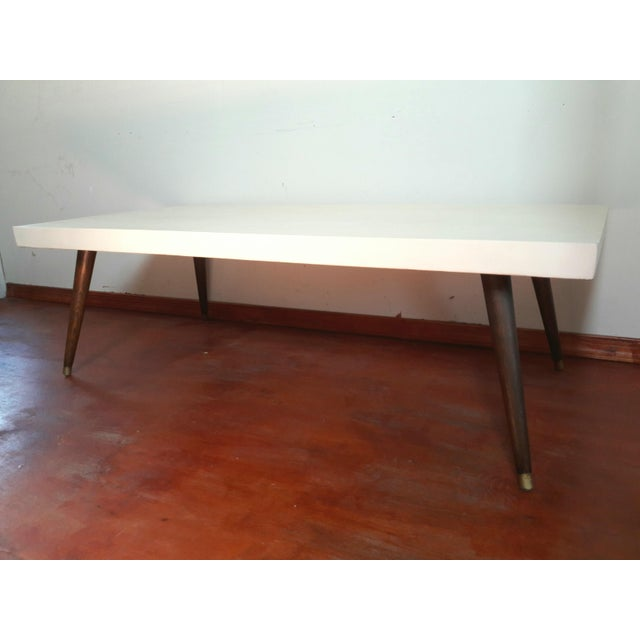 Mid-Century Modern Painted Coffee Table - Image 2 of 6