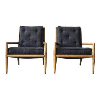 Robsjohn-Gibbings Lounge Chairs - a Pair