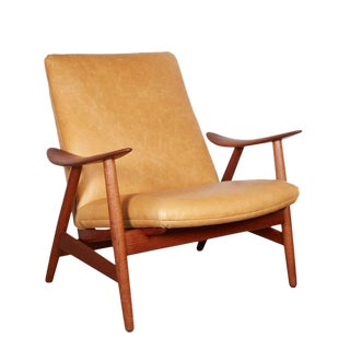 Danish Modern Club Chair by Illum Wikkelso