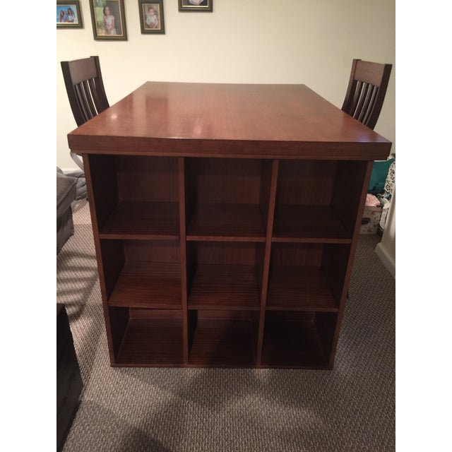 Pottery Barn Project Table & Two Matching Chairs - Image 2 of 8