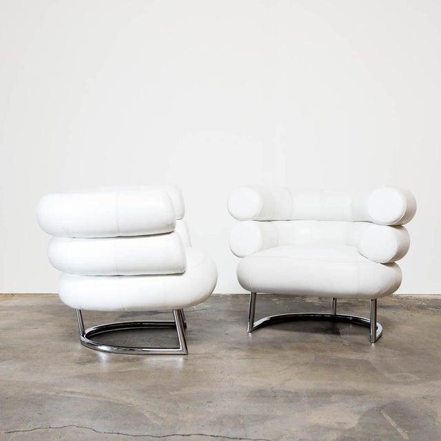 Eileen Gray Classicon Bibendum Chairs A Pair Chairish