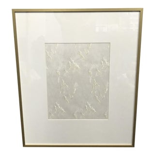 Framed Japanese Block Print