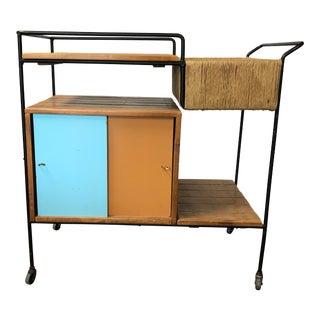 Mid-Century Arthur Umanoff Bar Cart