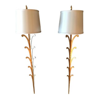 Portobello Road Golden Sconces - A Pair