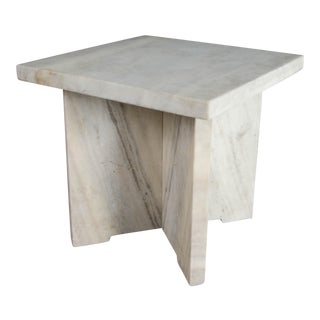 Square Stone Table
