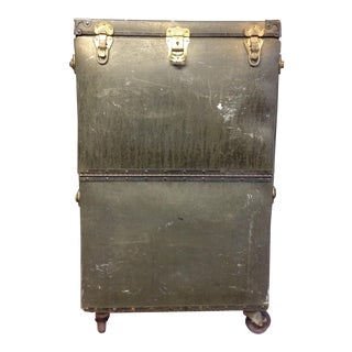 Vintage Spaulding Rolling Equipment Storage Case
