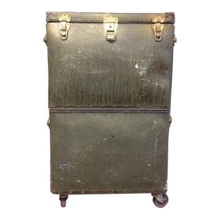 Vintage Spaulding Rolling Equipment Storage Case