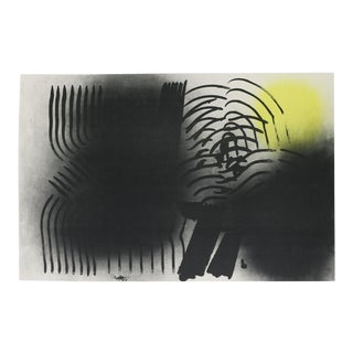 "Hans Hartung ""Abstract"" Lithograph"