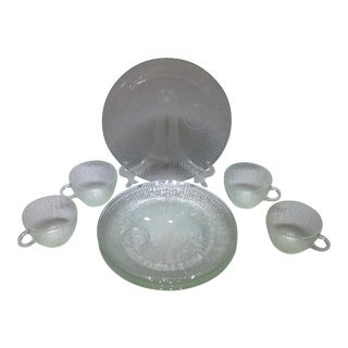 Jeannette Glass Vintage Luncheon Service- Set of 8