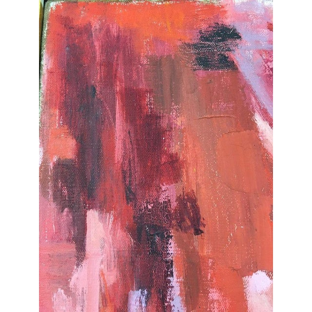 BT Wohl Mid-Century Abstract Oil Painting 1966 - Image 10 of 11