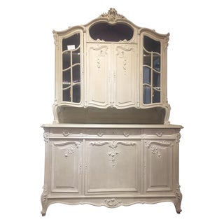 Custom Painted French Hutch