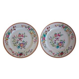 Royal Doulton Chinoiserie Plates - A Pair