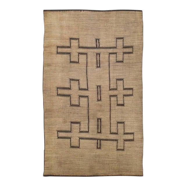 Rustic African Tuareg Woven Rug - 11′4″ × 19′ - Image 1 of 5