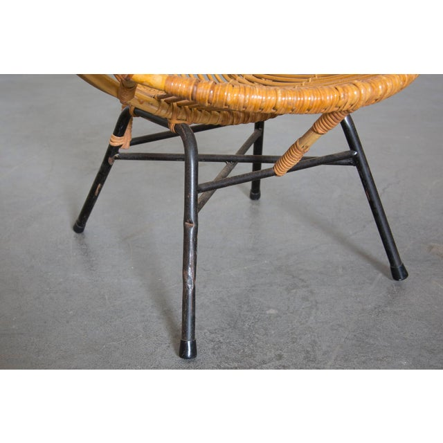 Rohe Noordwolde Bamboo Hoop Chair With Arms - Image 8 of 10