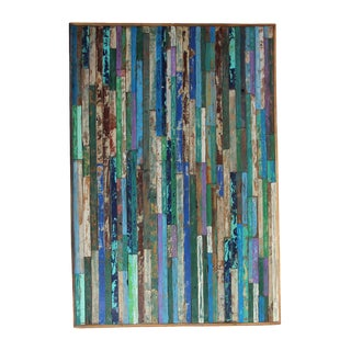 Reclaimed Boat Wood Panel