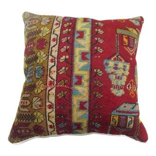 Bohemian Style Turkish Rug Pillow
