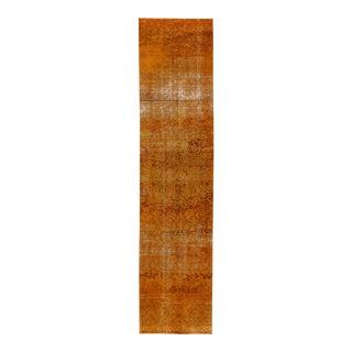 "Apadana - Vintage Overdyed Rug, 2'7"" x 10'2"""