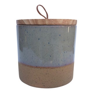 Medium Speckled Ojai Stoneware Canister