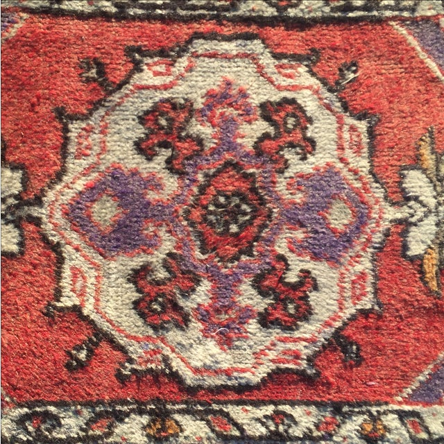 Anatolian Persian Rug - 1′7″ × 2′11″ - Image 5 of 9