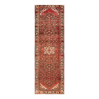 "Apadana - Vintage Persian Hamadan Rug, 2'9"" x 9'1"""