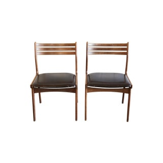Mid-Century Modern Rosewood Dining Chairs - A Pair