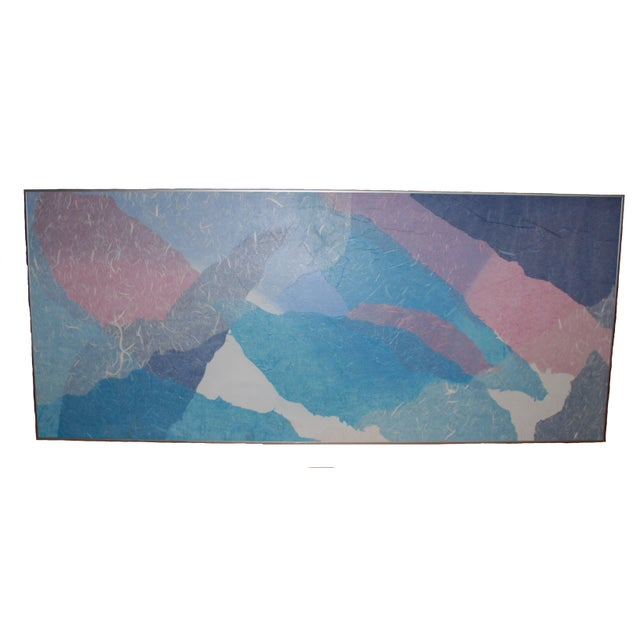 Large Mid Century Harris Strong Painting - Image 1 of 5