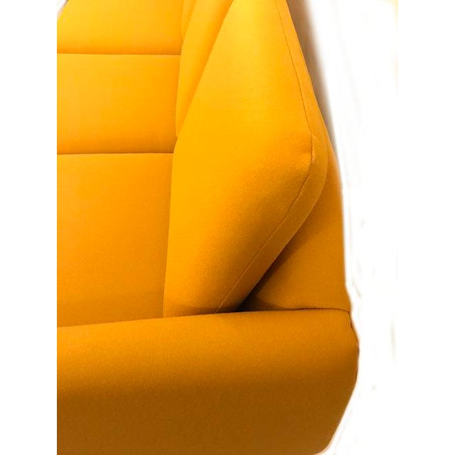 Yellow Mid-Century Modern Couch - Image 4 of 8