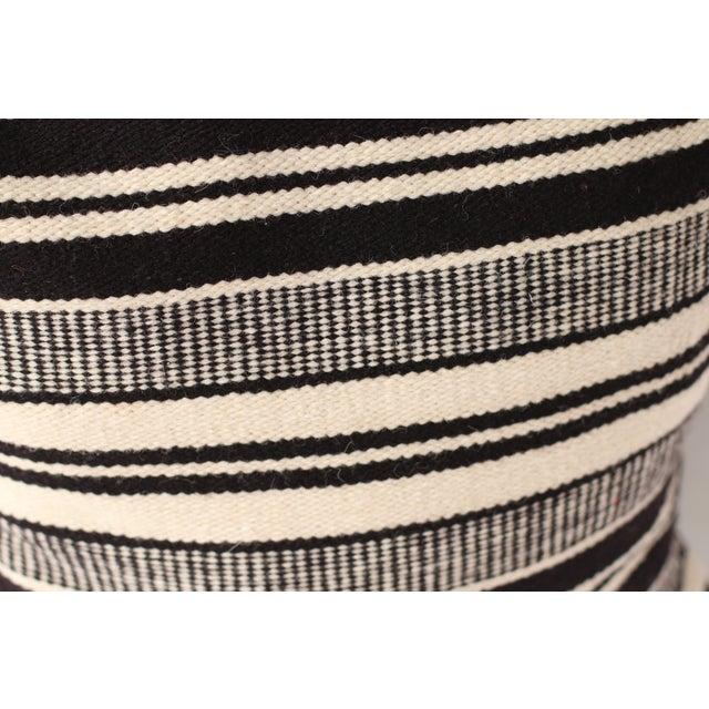 Peruvian Wool Striped Pillow Case - Image 3 of 4