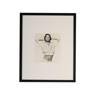 "Mick Jagger ""Stretching"" 1974 Original Photo"