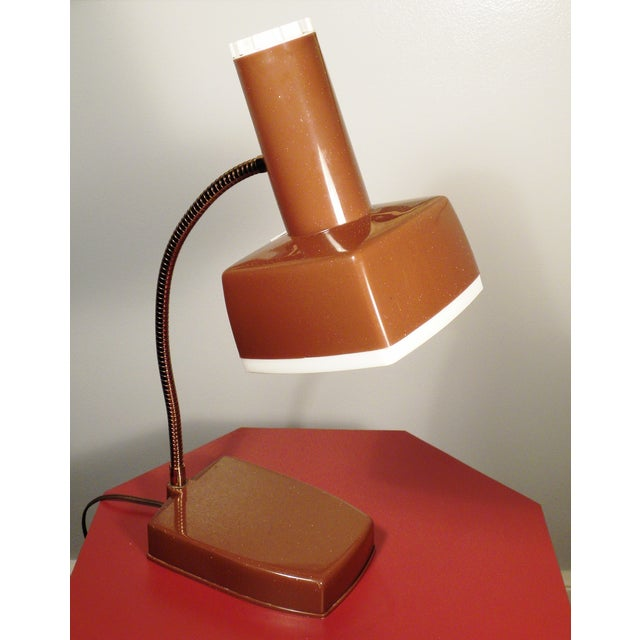 mid century modern desk lamp chairish. Black Bedroom Furniture Sets. Home Design Ideas