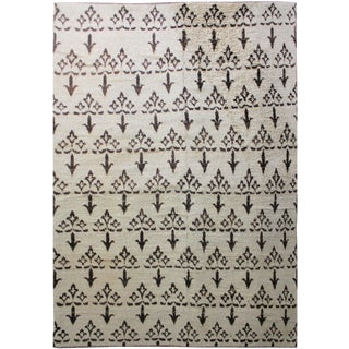 "Aara Rugs Hand Knotted Ikat Rug - 9'6"" x 13'1"""