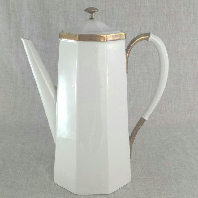 Geometric Octagonal Coffee Pot - Image 3 of 9