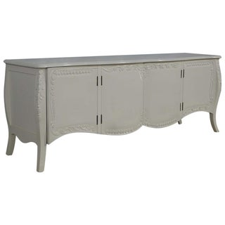 French Provincial Farmhouse Style White Buffet