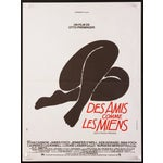 """Image of """"Such Good Friends,"""" French Poster by Saul Bass"""