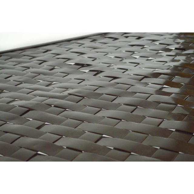 Woven Metal Coffee Table by Dakota Jackson - Image 5 of 6